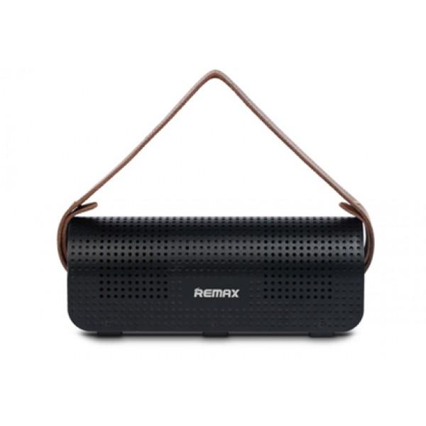Аудиоколонка колонка Remax Music Box RB H1 Speaker, Power Bank 8800 мАч (Черная)