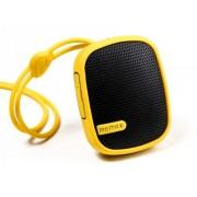 Портативная аудиоколонка колонка Remax RM-X2 Mini Speaker (Желтая)