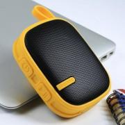 Портативная аудиоколонка колонка Remax Music Box X2 Speaker (Желтая)