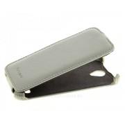 Чехол книжка Armor для телефона Fly IQ4503 Quad ERA Life 6 (Белый)
