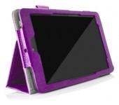Чехол книжка для планшета Dell Venue 8 (Фиолетовый)