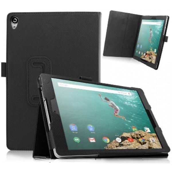 Чехол книжка для планшета HTC Google Nexus 9 (Черный)