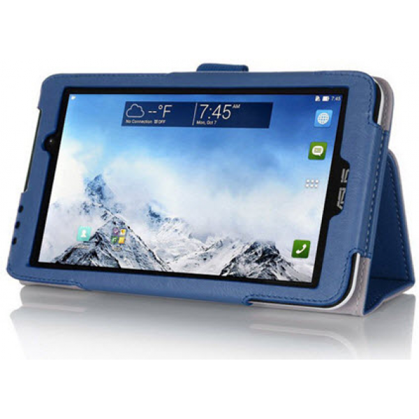 Чехол книжка для планшета Asus MeMO Pad 7 ME170C, ME170CG (Синий)