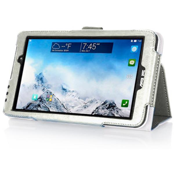 Чехол книжка для планшета Asus MeMO Pad 7 ME170C, ME170CG (Белый)