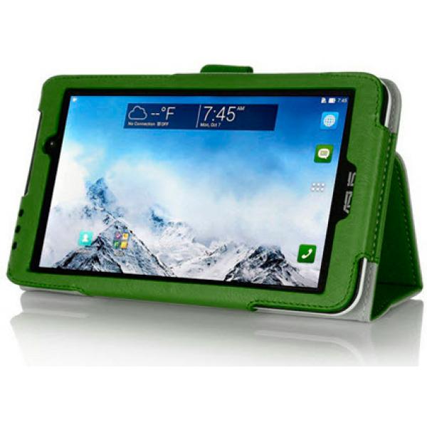 Чехол книжка для планшета Asus MeMO Pad 7 ME170C, ME170CG (Зеленый)