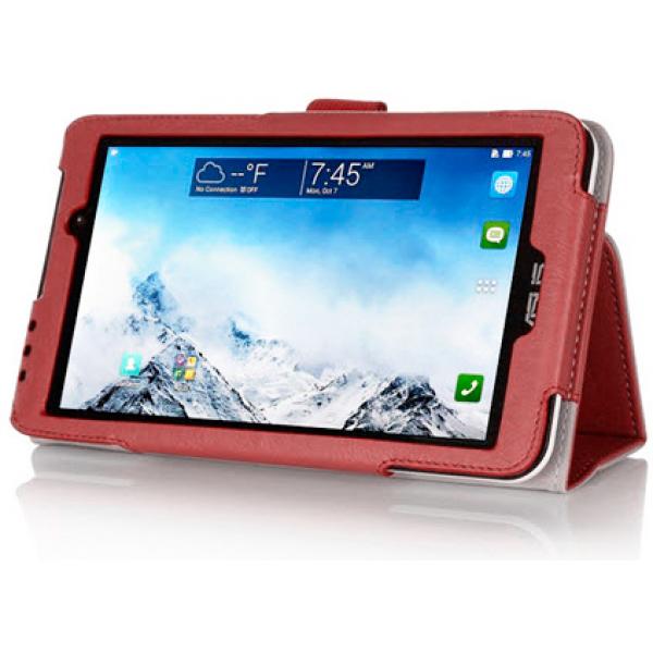 Чехол книжка для планшета Asus MeMO Pad 7 ME170C, ME170CG (Красный)