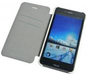 Чехол книжка SlimFit для планшета Asus PadFone S X (Белый)