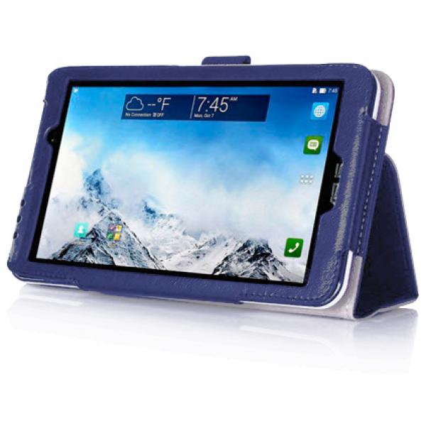 Чехол книжка для планшета ASUS Fonepad 7 FE375CXG (Синий)