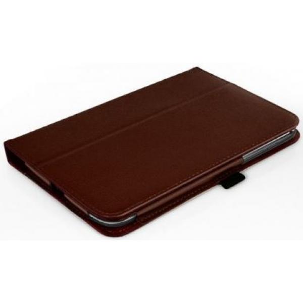Чехол книжка для планшета Asus Fonepad 8 FE380CG (Коричневый)