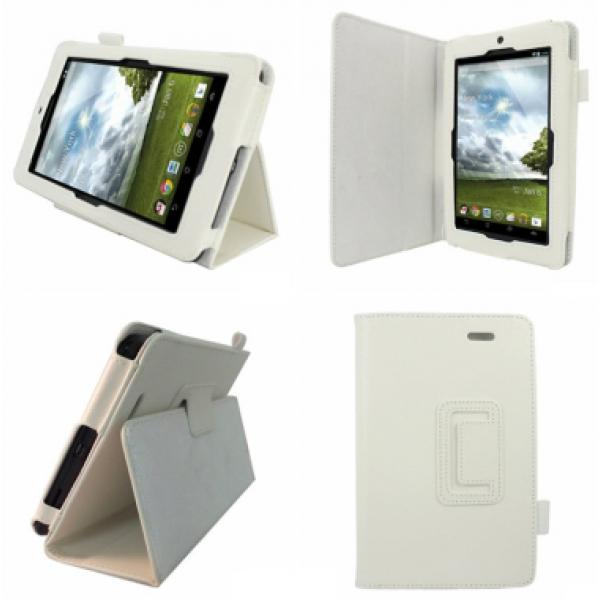 Чехол книжка для планшета Asus MeMO Pad ME172V (Белый)