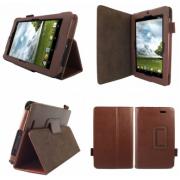 Чехол книжка для планшета Asus MeMO Pad ME172V (Коричневый)