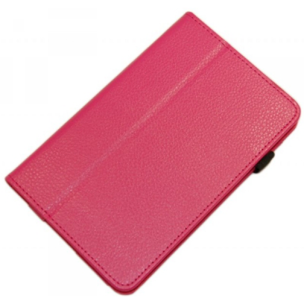 Чехол книжка для планшета Asus MeMO Pad ME172V (Малиновый)