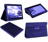 Чехол книжка для планшета Asus MeMO Pad FHD 10 ME302KL, ME302C, Smart ME301T (Синий)