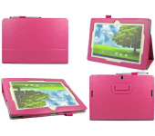 Чехол книжка для планшета Asus MeMO Pad FHD 10 ME302KL, ME302C, Smart ME301T (Малиновый)