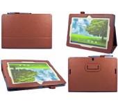 Чехол книжка для планшета Asus MeMO Pad FHD 10 ME302KL, ME302C, Smart ME301T (Коричневый)