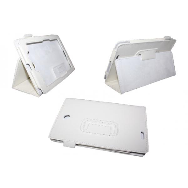 Чехол книжка для планшета Asus Fonepad ME371MG (Белый)