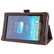 Чехол книжка для планшета Asus Fonepad 7 ME372CG, ME372CL (Коричневый)