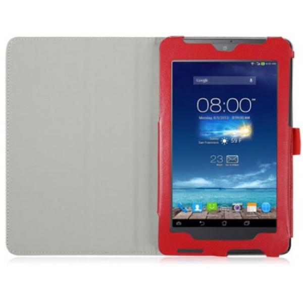 Чехол книжка для планшета Asus Fonepad 7 ME372CG, ME372CL (Красный)