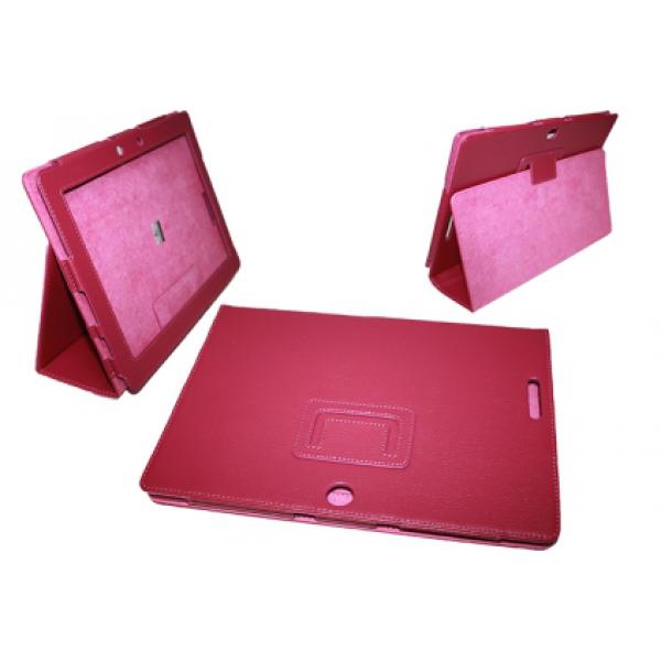 Чехол книжка для планшета Asus Transformer pad TF300,TF301 (Малиновый)