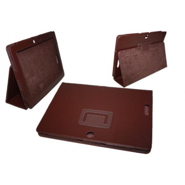 Чехол книжка для планшета Asus Transformer pad TF300,TF301 (Коричневый)