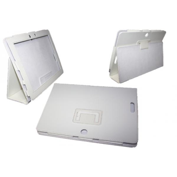 Чехол книжка для планшета Asus Transformer pad TF300,TF301 (Белый)