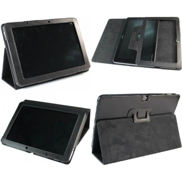 Чехол книжка для планшета Acer Iconia Tab A510, A511, A700, A701 (Черный)