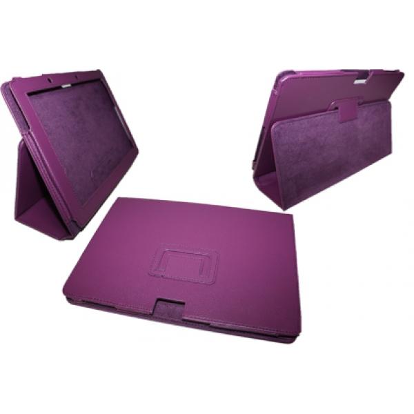 Чехол книжка для планшета Acer Iconia Tab A510, A511, A700, A701 (Сиреневый)