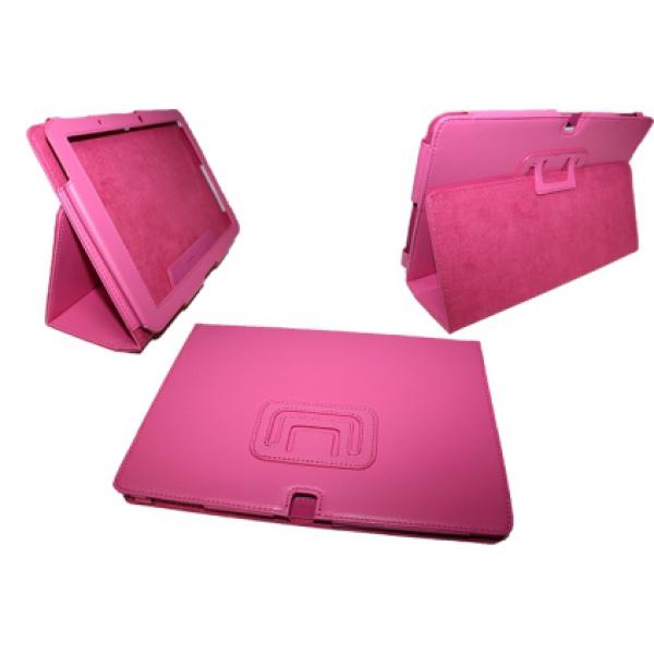Чехол книжка для планшета Acer Iconia Tab A510, A511, A700, A701 (Малиновый)