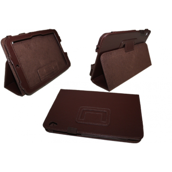 Чехол книжка для планшета Acer Iconia Tab W3-810 (Коричневый)
