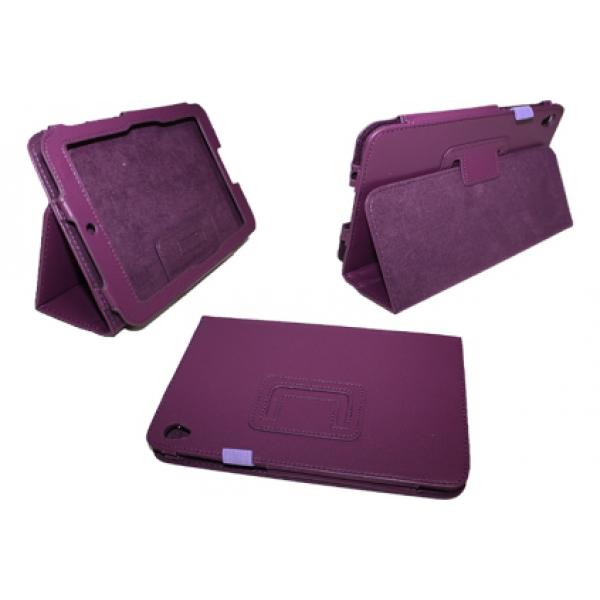Чехол книжка для планшета Acer Iconia Tab W3-810 (Фиолетовый)