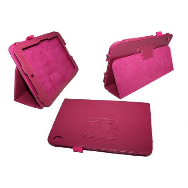 Чехол книжка для планшета Acer Iconia Tab W3-810 (Малиновый)