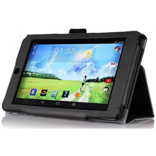 Чехол книжка для планшета Acer Iconia Tablet One B1-730 HD (Черный)