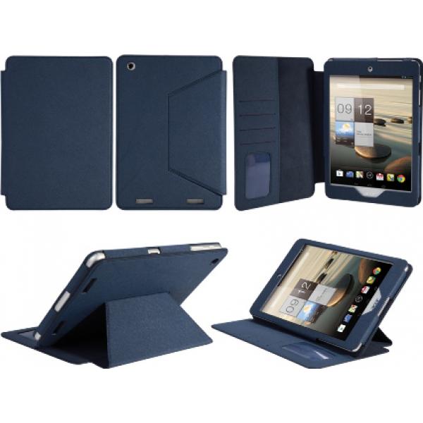 Чехол книжка Classic для планшета Acer Iconia Tab A1-830, A1-831 (Синий, с визит.)
