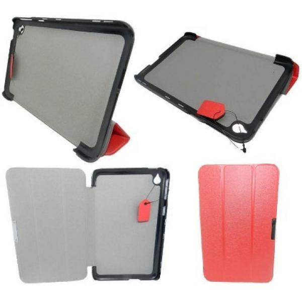 Чехол книжка SlimFit для планшета Acer Iconia Tab A1-830, A1-831 (Красный)