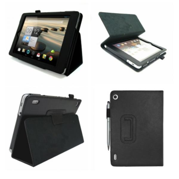Чехол книжка для планшета Acer Iconia Tab A1-810, A1-811 (черный)