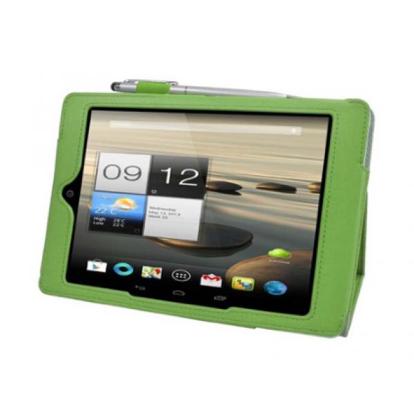 Чехол книжка для планшета Acer Iconia Tab A1-810, A1-811 (Зеленый)