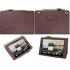 Чехол книжка для планшета Acer Iconia Tab A1-810, A1-811 (Коричневый)