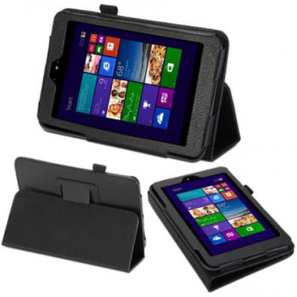 Чехол книжка для планшета Dell Venue 7 (Черный)