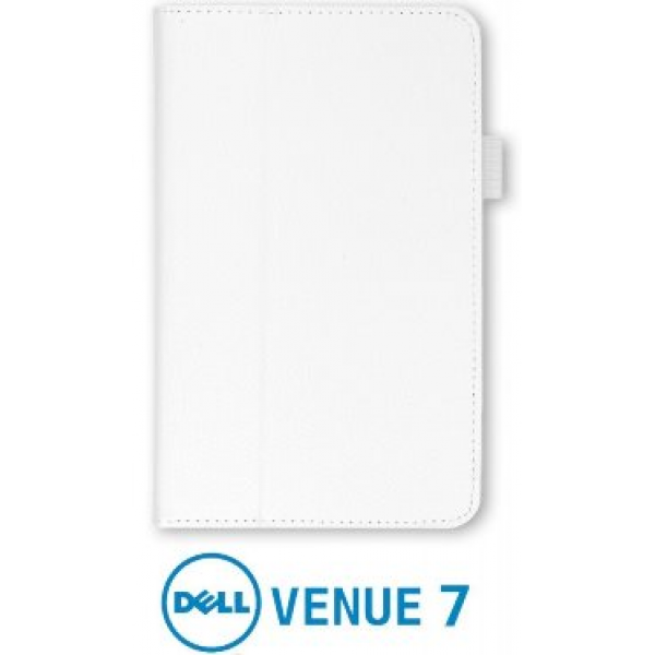 Чехол книжка для планшета Dell Venue 7 (Белый)