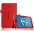 Чехол книжка для планшета Dell Venue 7 (Красный)