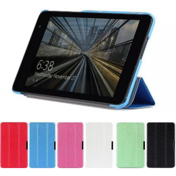 Чехол книжка SlimFit для планшета Dell Venue 8 Pro (Черный)