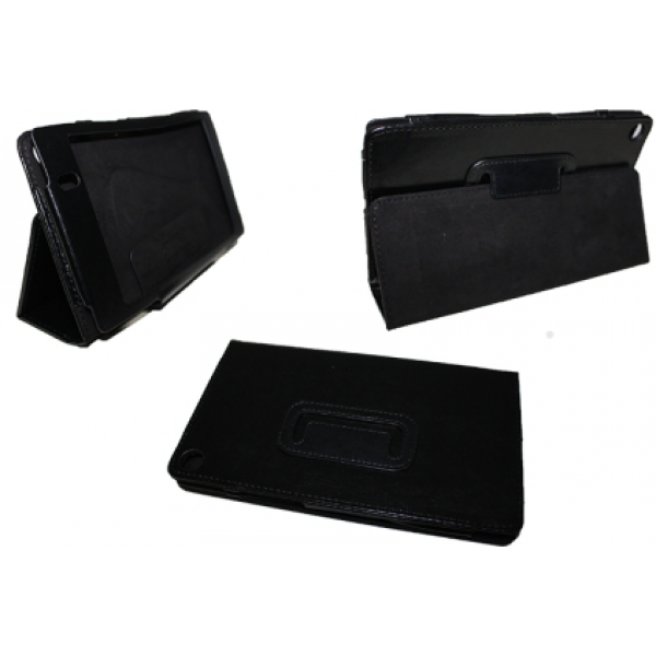 Чехол книжка для планшета Asus Google Nexus 7 2013 (Черный)