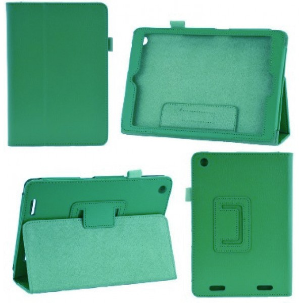 Чехол книжка для планшета Asus Google Nexus 7 2013  (Зеленый)