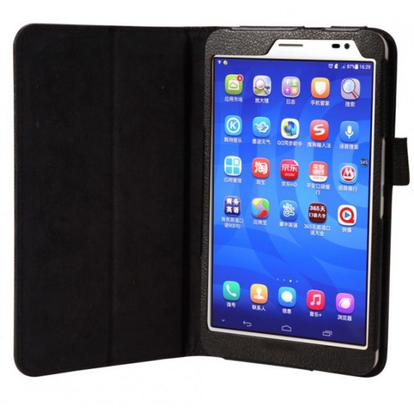 """Чехол книжка для планшета Huawei MediaPad T1 диагональ 8"""" (Черный)"""