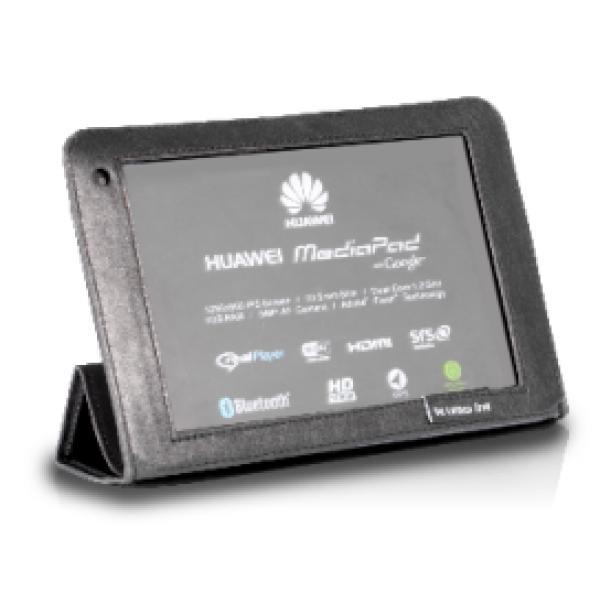 Чехол книжка Slim для Huawei MediaPad 7 (Черный)
