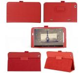 Чехол книжка для планшета LG G Pad 8.3 v500 (Красный)