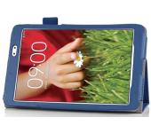 Чехол книжка для планшета LG G Pad 8.3 v500 (Синий)