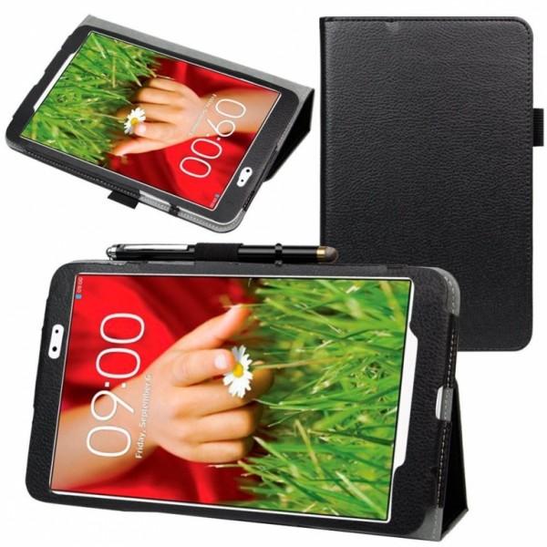 Чехол книжка для планшета LG G Pad 8.0 V490,480 (Черный)