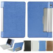 Чехол книжка для планшета Lenovo Yoga Tablet 8 B6000 (Голубой)