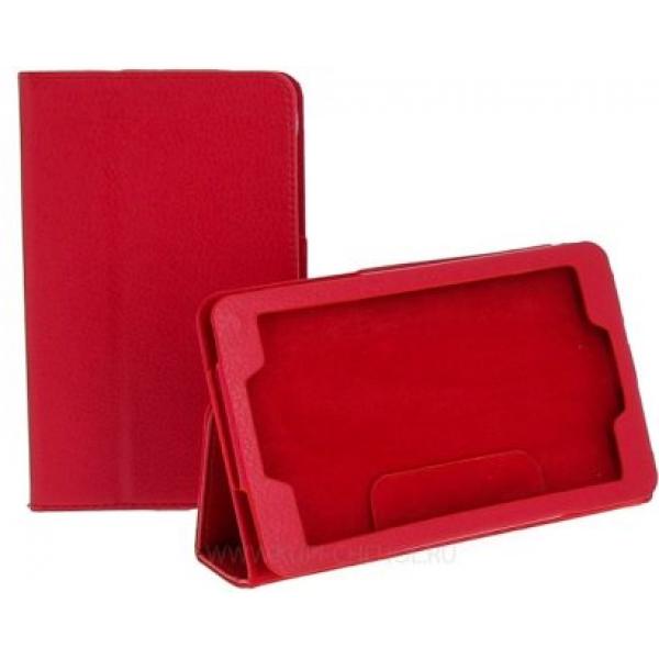 """Чехол книжка для планшета Lenovo IdeaTab A3500, 7"""" A7-50, A7-30 (Красный)"""